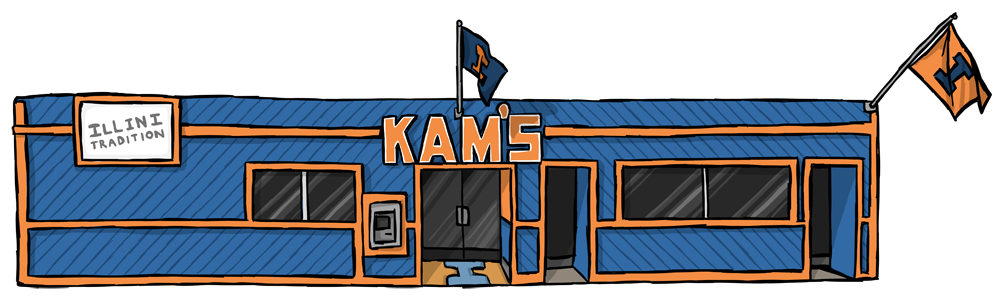 drawing of Kam's